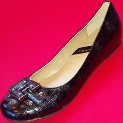NEW Women's CL LAUNDRY MAVIS Black Flats Fashion Dress/Causa