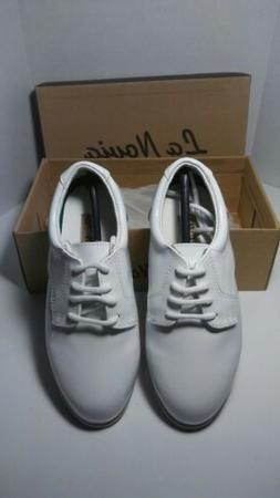⭐ NEW ⭐ La Novia Youth Boys White Patent Formal Dress Ox