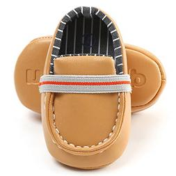 LIVEBOX Newborn Baby Boys Shoes, Loafers Dress Flat Shoes Sn