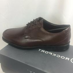 NIB Mens Rockport Formal Brown Lace Up Shoes Ready for Busin