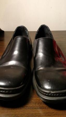 COLE  HAAN NIKE AIR Mens Size 9 BLACK Dress Shoes.