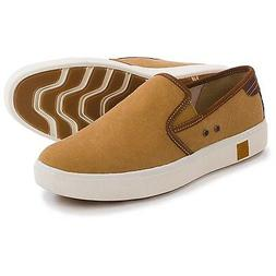 NWB~ MEN'S TIMBERLAND AMHERST  BROWN SLIP-ON'S, LOAFERS, CAS