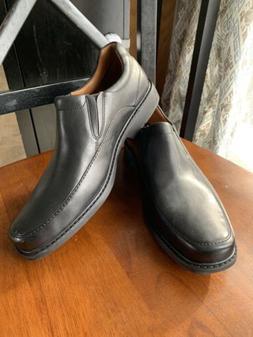 NWOB Clarks Gatewood Step Men's Dress Shoes Size 11 Black Le