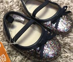 NWT Gymboree Baby Toddler Girl Size 4 Multi Glitter Dress Sh
