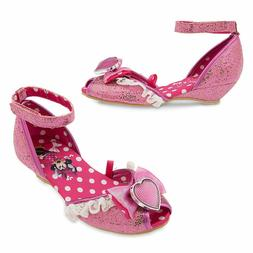NWT Disney Store Minnie Mouse Pink Costume Dress Shoes 5/6,7