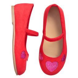 NWT Gymboree Sweetheart Shop heart Flats Dress shoes Toddler