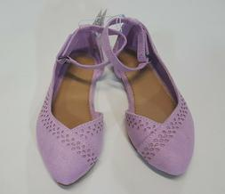 NWT Old Navy Toddler Girls Size 5 Lavendar Purple Ankle Stra