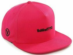 Vans Off The Wall Men's Distort Snapback Hat Cap Rosebud Pin