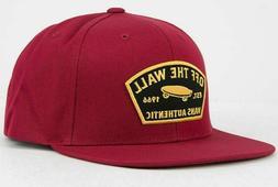 Vans Off The Wall Rhumba Red Trask Snapback Men's Hat Skateb