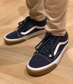 Vans OLD SKOOL CANVAS SKATE Shoes Size Men's 9 GUM BUMPER /