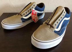 Vans OLD SKOOL CANVAS SKATE Shoes Size Men's 7.5 $65 DRESS B