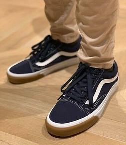 Vans OLD SKOOL CANVAS SKATE Shoes Size Women's 9 GUM BUMPER
