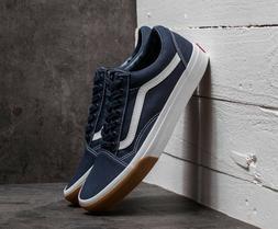 Vans OLD SKOOL CANVAS SKATE Shoes Size Men's 10 GUM BUMPER /