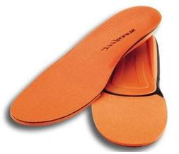 Superfeet - Mens Orange Premium Insoles, Size:  7.5 - 9 Mens
