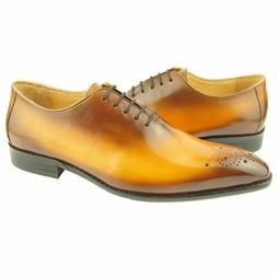 Oxfords Genuine Leather Dress Shoes Handmade Casual Formal M