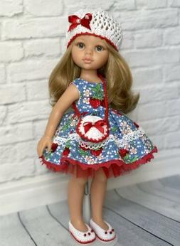 Paola Reina Doll Outfit/clothes,dress,hat,shoes