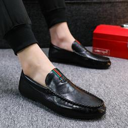 mens peas shoes lazy driving shoes personality