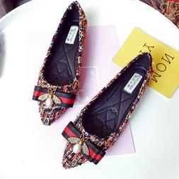 Plus Size Flat Brand <font><b>Shoes</b></font> Women Rhinest