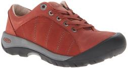 KEEN Women's Presidio Oxford,Burnt Henna,9 M US