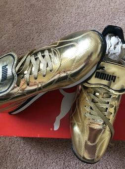 PUMA Avanti Gold Color Snickers Mens Brand New with box Neve