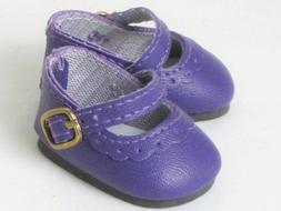 "Purple Mary Jane Dress Shoes For 14.5""  Wellie Wishers Ameri"