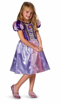 Rapunzel Tangled Costume for Girls size 4-6X & 7-8 W/SHOES!!