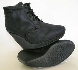 RARE~Adidas SLVR Winter WEDGE Ankle boot style Fashion Dress