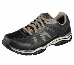 Skechers Mens Relaxed Fit Rovato Texon Oxford Shoes Casual/D