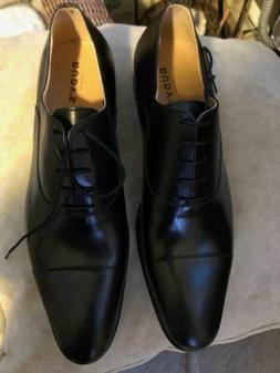 Rudy's Paris Barry Black CapToe Leather Men's Dress Shoes ,