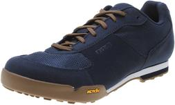 Giro Rumble VR Mens cycling shoes Dress Blue / Gum color