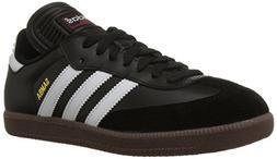 adidas Mens Samba Classic Indoor Soccer Shoe 10 1/2 US, Blac
