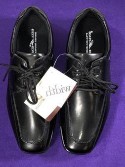 Deer Stags Sharp Boys Oxford Dress Black Slip On Shoes Size