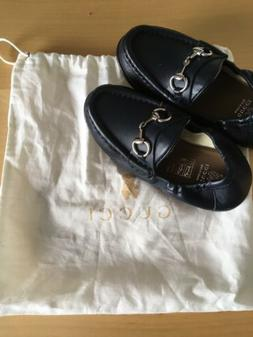 Gucci shoes size 9 for Toddler Boy.
