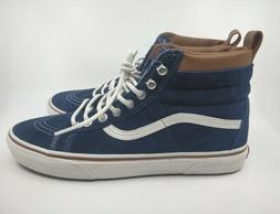 Vans Sk8-HI MTE Dress Blues/Marshmallow Skate Shoes