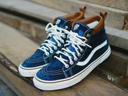 Vans SK8-HI MTE SKATE Shoes Size Men's 9 DRESS BLUES/ MARSHM