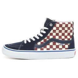 """Vans """"Sk8-Hi Pro"""" Sneakers  Men's Checkerboard High Top Skat"""