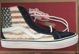 Vans SK8-Hi Reissue Americana Dress Blues Mens Shoes Size 6