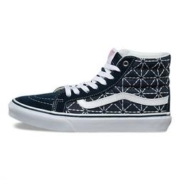 VANS Sk8 Hi Slim  Dress Blues/Zephyr Skate Shoes WOMEN'S 6.5