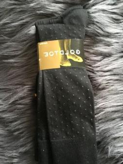 Gold Toe Socks Men 3 Pairs Mens Black and Patterned Dress So
