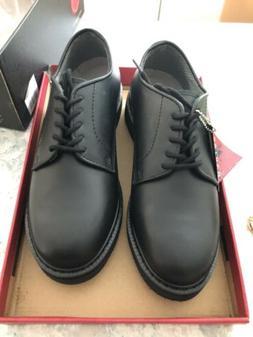 Rothco Soft Sole Uniform Oxford/Leather Shoe, Black, 9.5