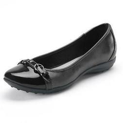 Solesenseability Kat Black Women's Ballet Flats Fashion Slip