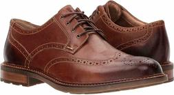 Sperry Top Sider Annapolis Wingtip Oxford Dark Brown Leather