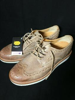 Sperry Top Sider Gold Cup Wing Tip Dress Shoes Vibram Soles