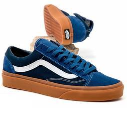 Vans Style 36 Gum True Navy/Dress Blues Men's Skate Shoes Si