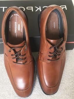 Rockport Tan Lace Up Dress Shoes size 10W NWB $149.99