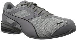 PUMA Men's Tazon 6 Knit Sneaker,grey,10 M US