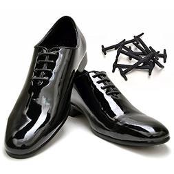 No Tie Shoelaces for Dress Shoes, Elastic Oxford Shoelaces f