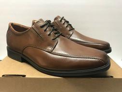Clarks Tilden Men's 8 Wide Walk Oxford Dark Tan Brown