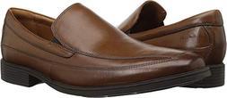 CLARKS Men's Tilden Free Slip-On Loafer, Dark Tan, 10.5 M US