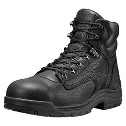 Timberland Pro 6In TiTAN Safety Toe Mens Black Leather Work